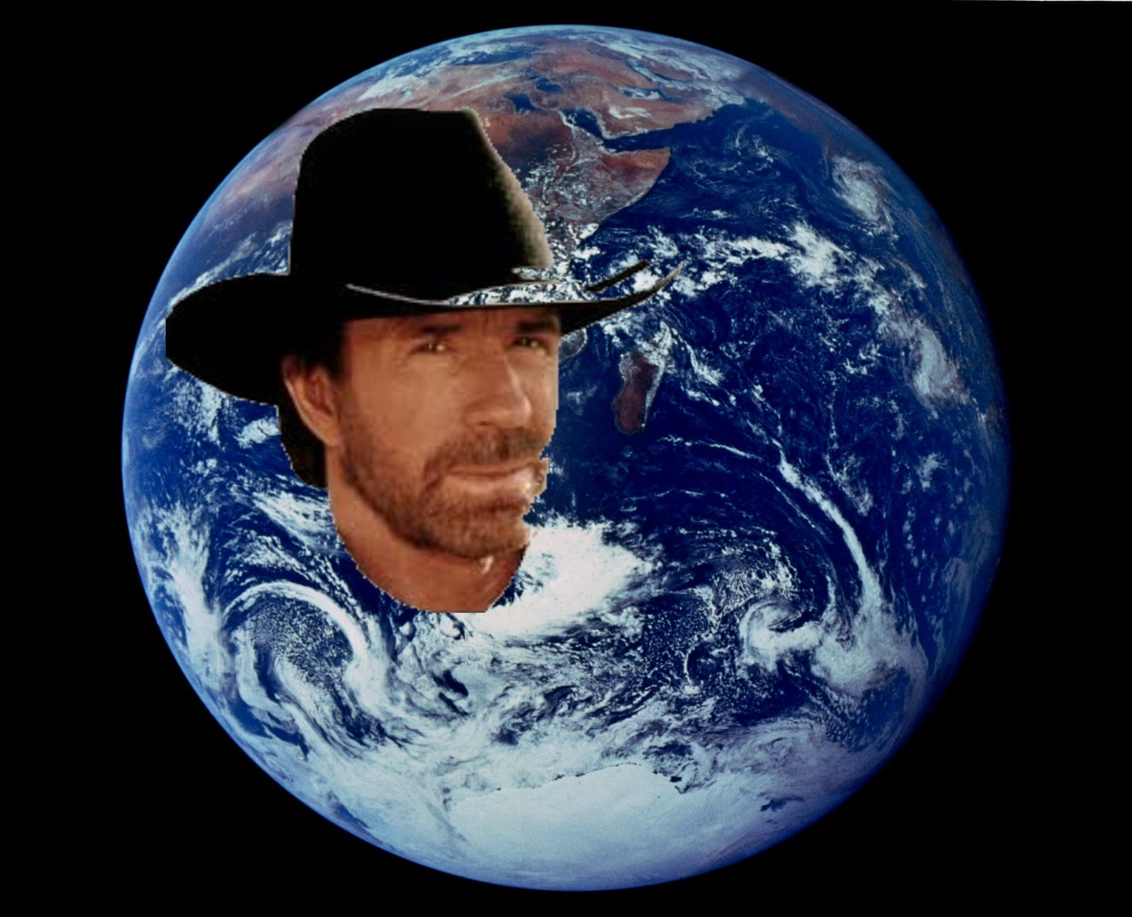 Chuck Norris Saves the World